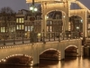 Night Shot Of The Magere Brug