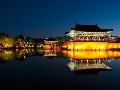 Anapji Pond - Gyeongju