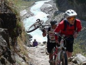Annapurna Circuit Biking Photos