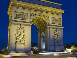 Paris Evening Tour on an Open-Top Bus Photos