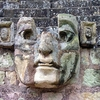 Archaeological Ornaments - East Court Display Honduras