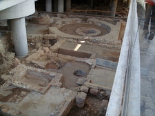 Archaeological Site Below The Main Entrance