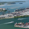Ariel View Of Port Miami