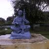 A Sculpture At Kalakshetra