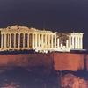 Athens - Parthenon - Night Lit