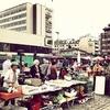 At Kauppatori Market Square In Turku Finland