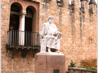 Averroes Monument
