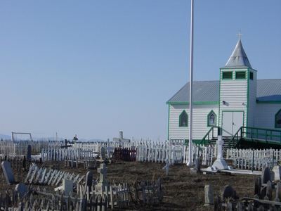 Church In Fort Mcpherson