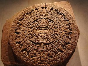 Piedra del Sol azteca