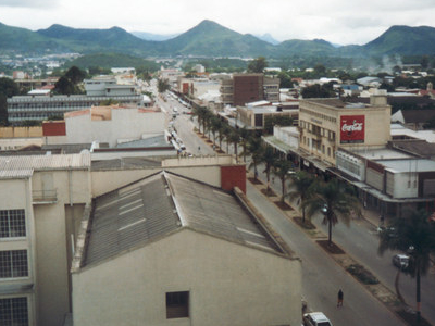 Aerial View Of Central Mutare