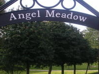 St Michael's Flags And Angel Meadow Park