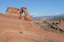 Delicate Arch Trail View