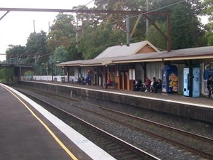 Asquith Railway Station