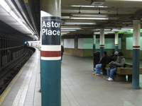 Astor Place IRT Lexington Avenue Line