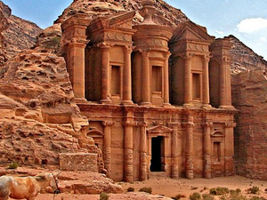 Day Tour to Petra & Dead Sea Photos