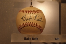 Babe Ruth Signed Baseball