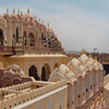 Full Rear View Of The Hawa Mahal