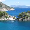 The Island Of Panagia Off The Coast Of Parga