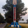 Balakliia City Sign