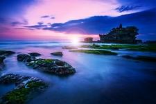 Bali Tanah Lot - Evening View