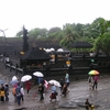 Bali Tanah Lot On A Rainy Day