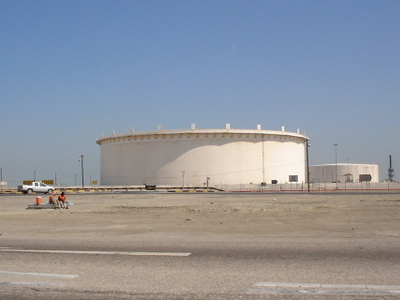 Bapco Bahrain Oil Reservoirs In Sitra