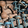 Barbells For Sale At Chor Bazaar