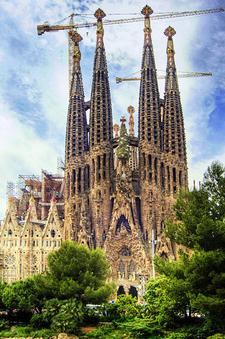 Barcelona Temple Expiatori De La Sagrada Fam Lia