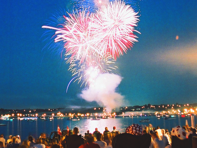 Barrie  Canada  Day  Fireworks