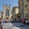 Bath Abbey And Entertainer