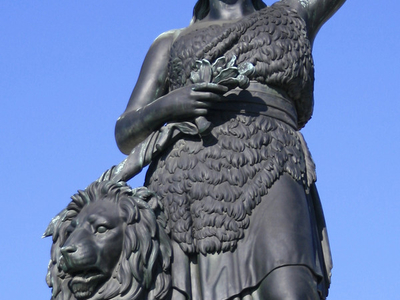 Bavaria statue