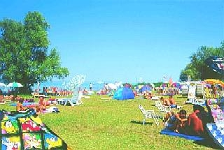 Beach In Balatonboglár (Platán-Beach) - Hungary