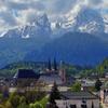 Berchtesgaden With View Of Mount Watzmann