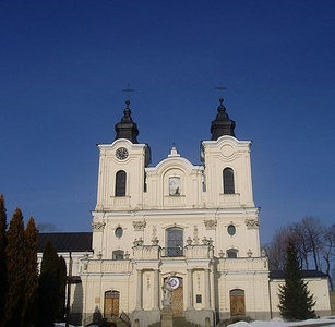 Bernardine Church in Dukla