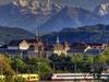 Bern & Swiss Alps Backdrop