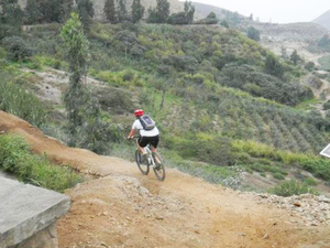 Road to Pachacamac: Small-Group Bike Tour from Lima Photos