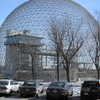 Montreal Biosphere In Snow