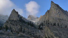Blodgett Canyon Cliffs