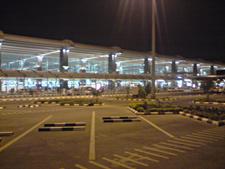 Blore Airport Nightview