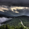 Blue Ridge Parkway From Mount Mitchell NC