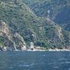 Boathouse Belonging To Simonos Petras Monastery