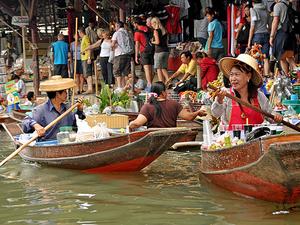 Half Day Bangkok Canals Photos