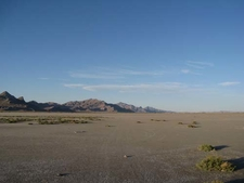 Bonneville Salt Flats And Silver Islands