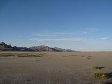 Bonneville Salt Flats And Silver Islands