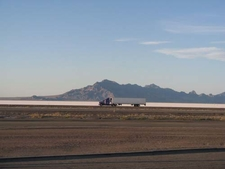 Bonneville Salt Flats Interstate 80