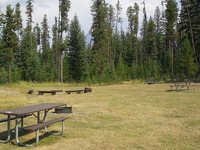 Bowman Lake Campground