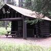 Bowman Lake Patrol Cabin - Glacier - USA