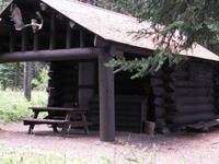 Bowman Lake Patrol Cabin