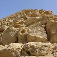 Bricks Of The Red Pyramid In Dahshur