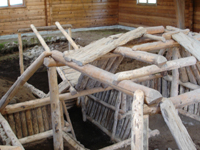 Brooks Camp Cultural Site Exhibit